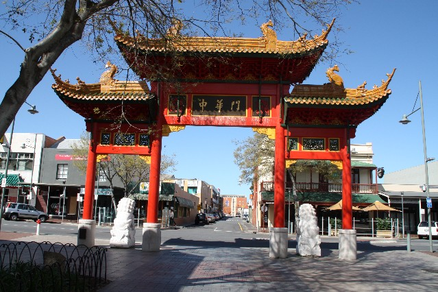 Chinatown Adelaide Entrance